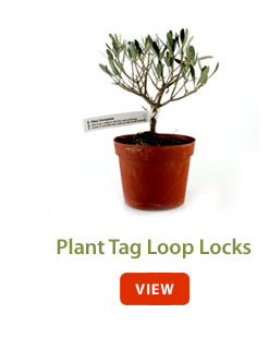 Plant Tag Loop Locks